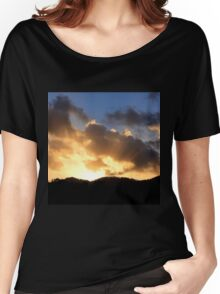 Sunrays peak through the clouds Women's Relaxed Fit T-Shirt