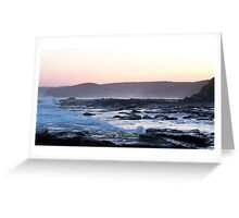 Merewether Rocks, Newcastle, NSW. Australia Greeting Card
