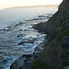 Bogey hole cliffs, Newcastle, NSW. Australia.2 by D4RKH0R53