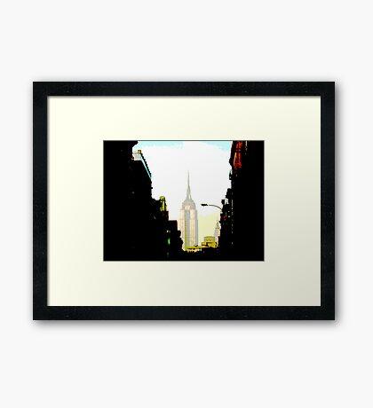 E.S.B. #1 Framed Print