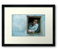 Jodhpur Early Riser Framed Print