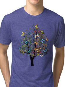 Butterfly Tree2 Tri-blend T-Shirt