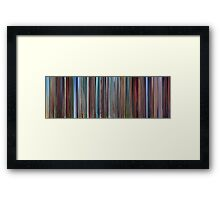 Moviebarcode: Despicable Me (2010) Framed Print