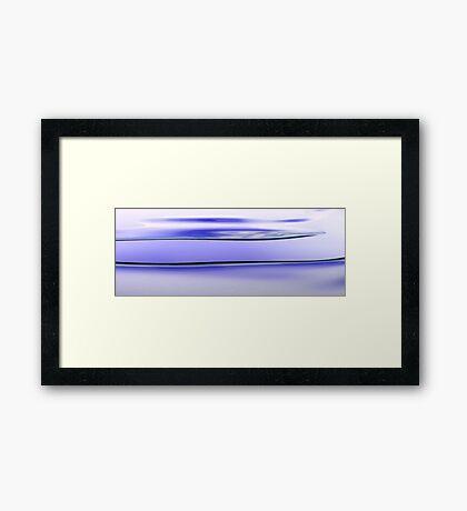 Tidal Waves Framed Print