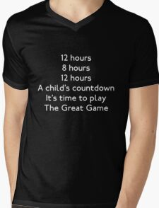 Time to Play Mens V-Neck T-Shirt