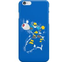 Flash Man Splattery Vector T iPhone Case/Skin