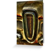 Edsel As Is Greeting Card