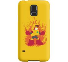 Heat Man Fiery Vector Shirt Samsung Galaxy Case/Skin