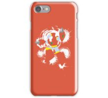 Crash Man Splattery T iPhone Case/Skin