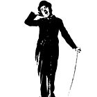 Charlie Chaplin iPhone Cases by chiaraggamuffin