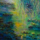 Lily Pond Tribute to Monet by Claire Bull