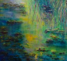 Lily Pond Tribute to Monet by ClaireBull