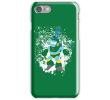 Bubble Man Splattery Vector shirt iPhone Case/Skin