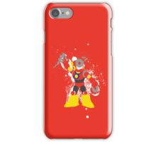 Metal Man Splattery T-Shirt iPhone Case/Skin