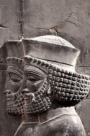 Achaemenian Guards by Katayoonphotos