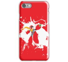 Protoman Paint Explosion iPhone Case/Skin