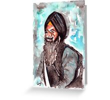 Bhai Fauja Singh Jee Greeting Card