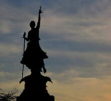 The Northernhay war memorial, Exeter by buttonpresser