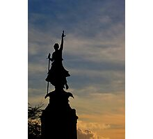 The Northernhay war memorial, Exeter Photographic Print