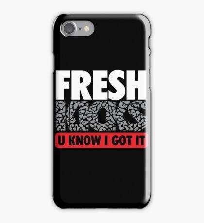 Fresh Kicks White Cement iPhone Case/Skin