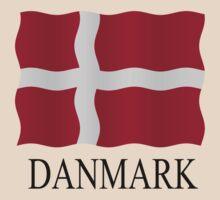 Danish flag by stuwdamdorp