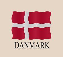 Danish flag Womens Fitted T-Shirt