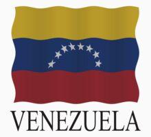 Venezuelan flag by stuwdamdorp