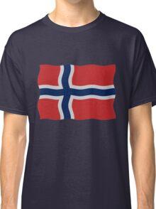Norway flag Classic T-Shirt