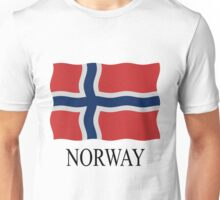 Norway flag Unisex T-Shirt