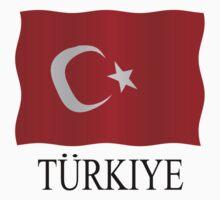 Turkish flag by stuwdamdorp