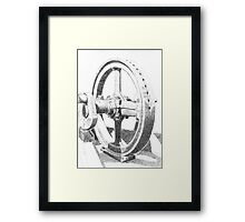 Drive Wheel Framed Print