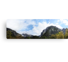 Yosemite Panorama Canvas Print