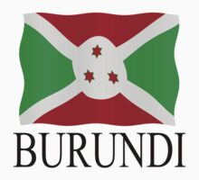 Burundi flag by stuwdamdorp
