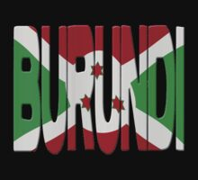 Burundi flag by stuwdamdorp