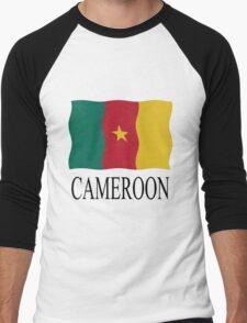 Cameroon flag Men's Baseball ¾ T-Shirt