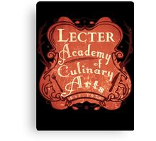Lecter Academy of Culinary Arts (2) Canvas Print