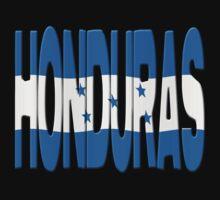 Honduras flag by stuwdamdorp