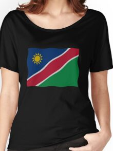 Namibian flag Women's Relaxed Fit T-Shirt