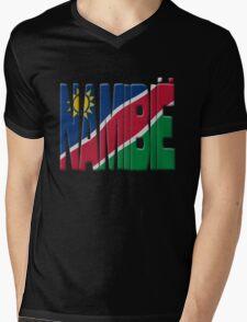 Namibia flag Mens V-Neck T-Shirt