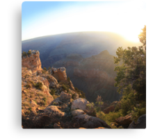 Canyon Sunrise Canvas Print