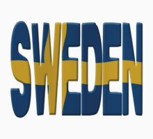 Sweden flag Kids Clothes