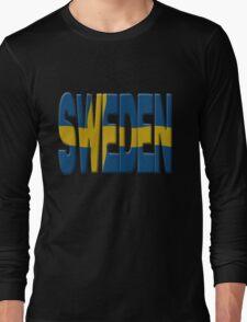 Sweden flag Long Sleeve T-Shirt