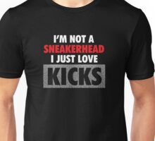 I'm not a Sneakerhead I just Love Kicks - Speckled Unisex T-Shirt