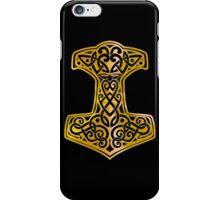 Mjoelnir - The Hammer of Thor 02 iPhone Case/Skin