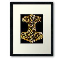 Mjoelnir - The Hammer of Thor 02 Framed Print