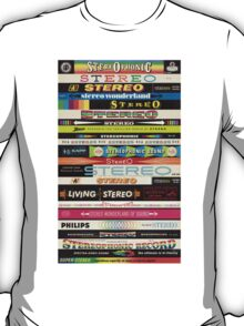 Stereo Stack Shirts & Hoodies T-Shirt