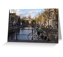Amsterdam - Typical Amsterdam View Greeting Card