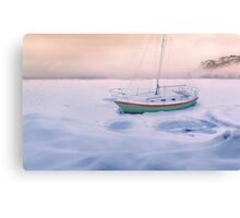Memories of Seasons Past - Prisoner of Ice Canvas Print