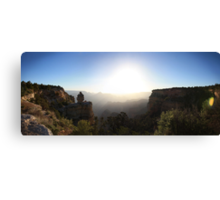 Grand Canyon Sunrise Panorama Canvas Print