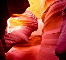 Waves of Colour - Antelope Canyon by thejourneysofar